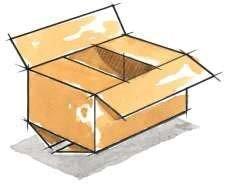 ساخت جعبه مقوایی