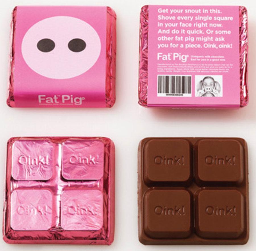 شکلات Fat Pig