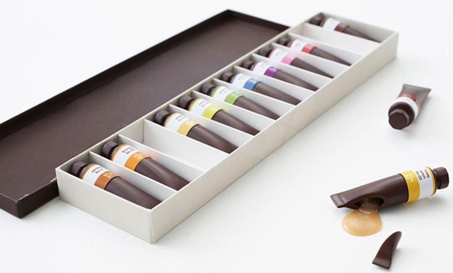 رنگ هایی با طعم شکلات