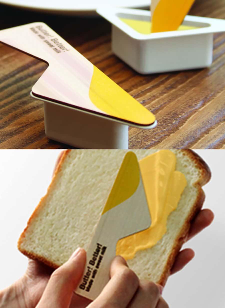 بسته بندی کره صبحانه