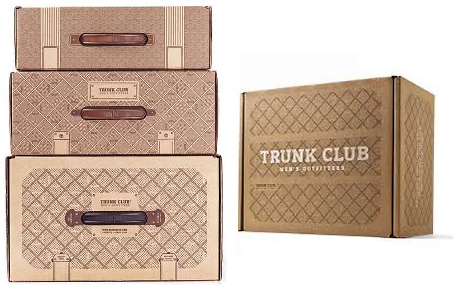 بسته بندی trunkclub