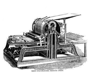 اختراع پرینترهای چرخشی