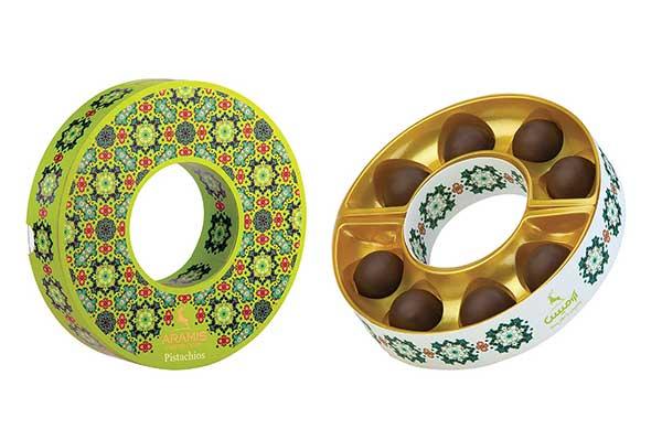 بسته بندی دایرهای شکل